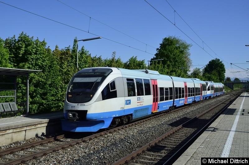 643 111 + 643 110 der BOB auf dem Weg nach München Hbf. in Otterfing.