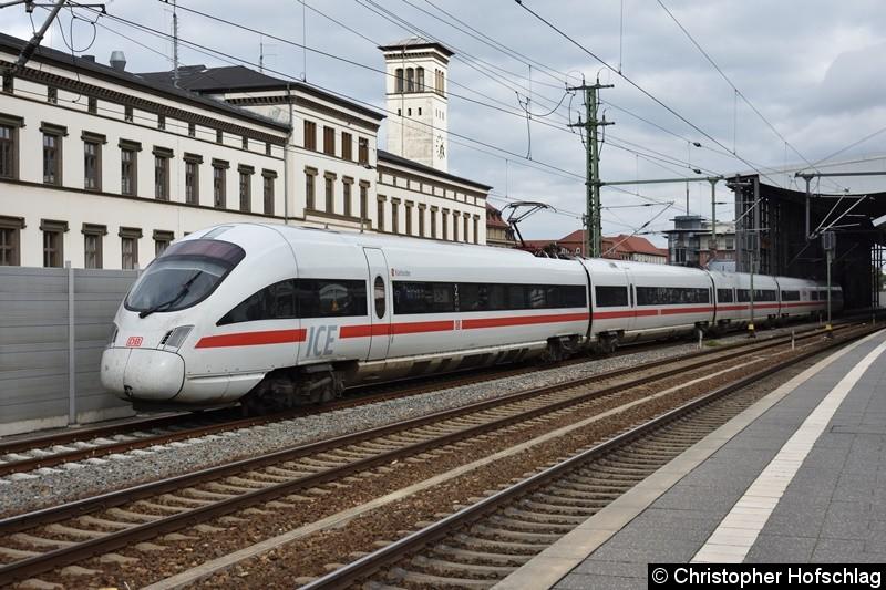 BR 415 502-4 (TZ 1502) als Probefahrt in Erfurt Hauptbahnhof.