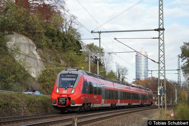 BR 442 271 bei Jena.