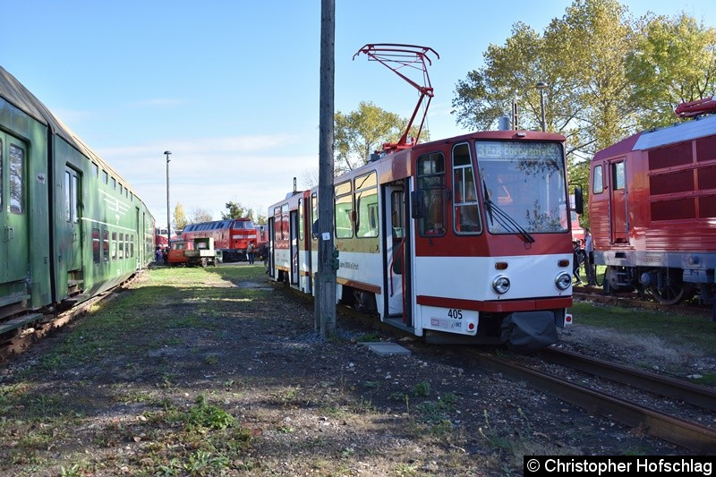 TW 405 in BW Weimar.