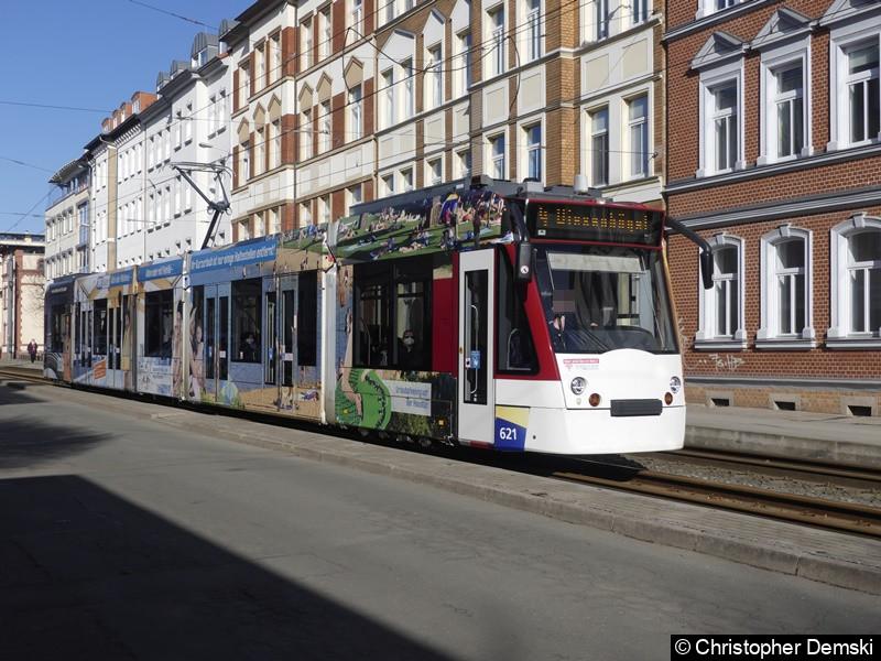 TW 621 als Linie 4 in der Rudolfstraße