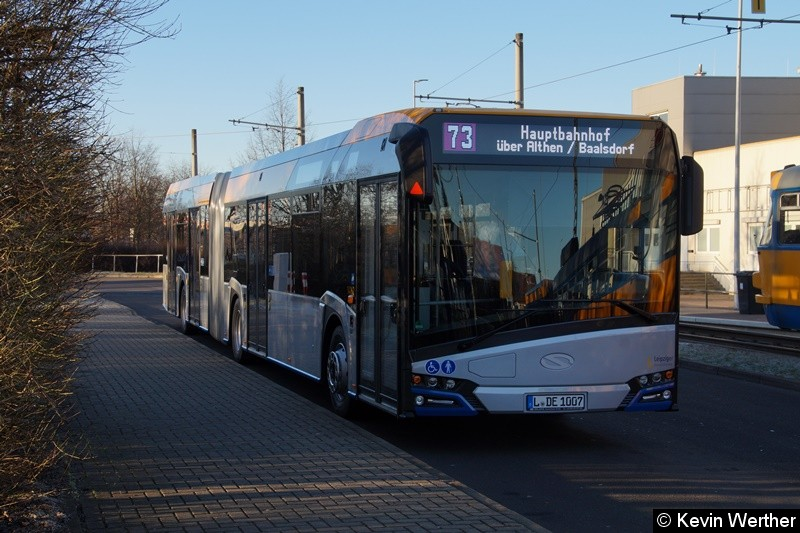 Wagen 14162 als Linie 73 in Sommerfeld