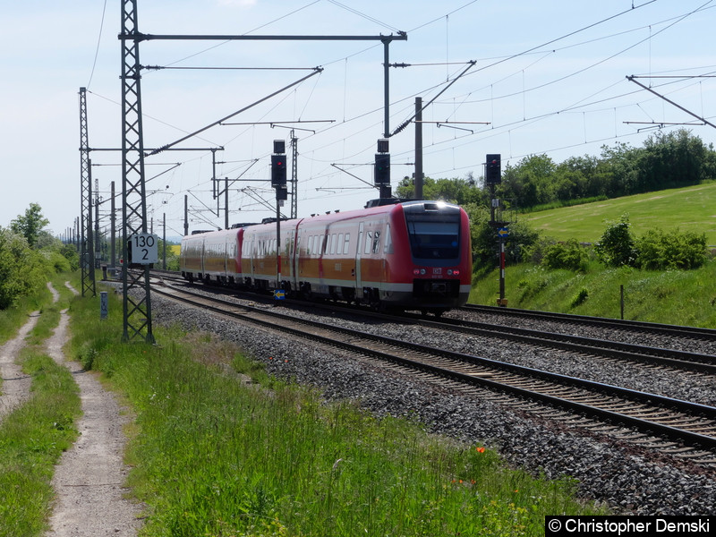 612 523+612 526 bei Seebergen in Richtung Erfurt.