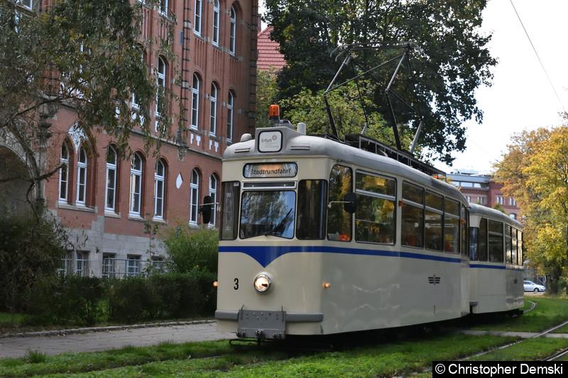 HTW 3 + BW 274 am Brühler Garten