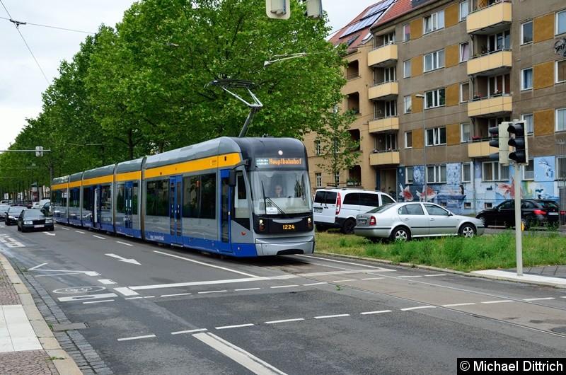 1224 als Linie 31 in der Richard-Lehmann-Str.