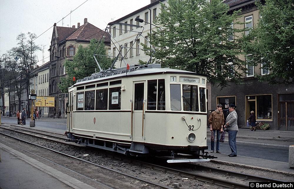 TW 92 Hst. Breitscheidstraße Karl-Marx Allee