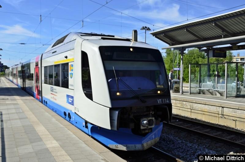 VT 114 der BOB in Holzkirchen.