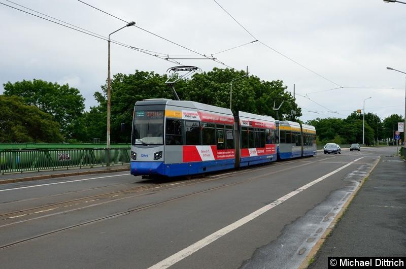 1344 + 1327 als Linie 31 auf der Richard-Lehmann-Str.