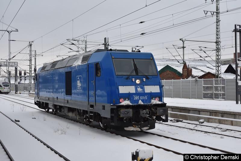 285 101-5 in Erfurt Hbf.