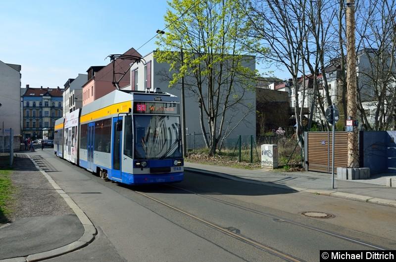 1148 als Linie 51 in der Wolfener Str.
