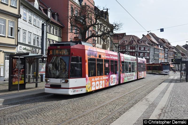 TW 611 als Linie 6 am Domplatz