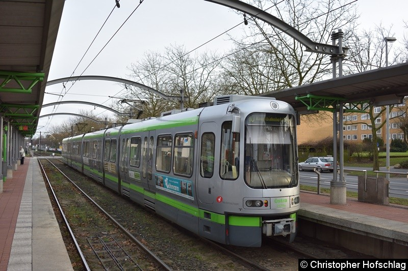 TW 2539 als Linie 10 in Ahlem.