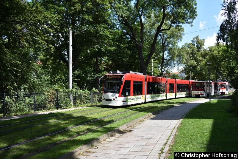 TW 623 als Linie 2 in Bereich Brühler Garten