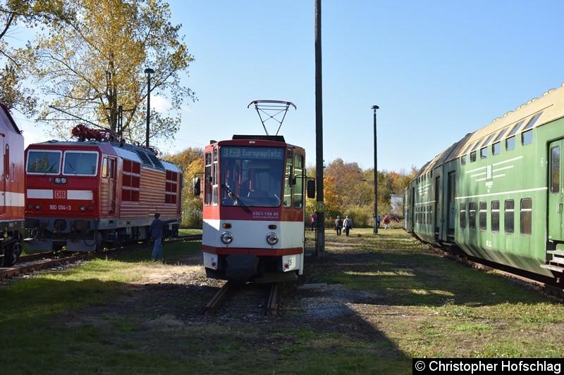 TW 405 auf den Gelände des BW Weimar.