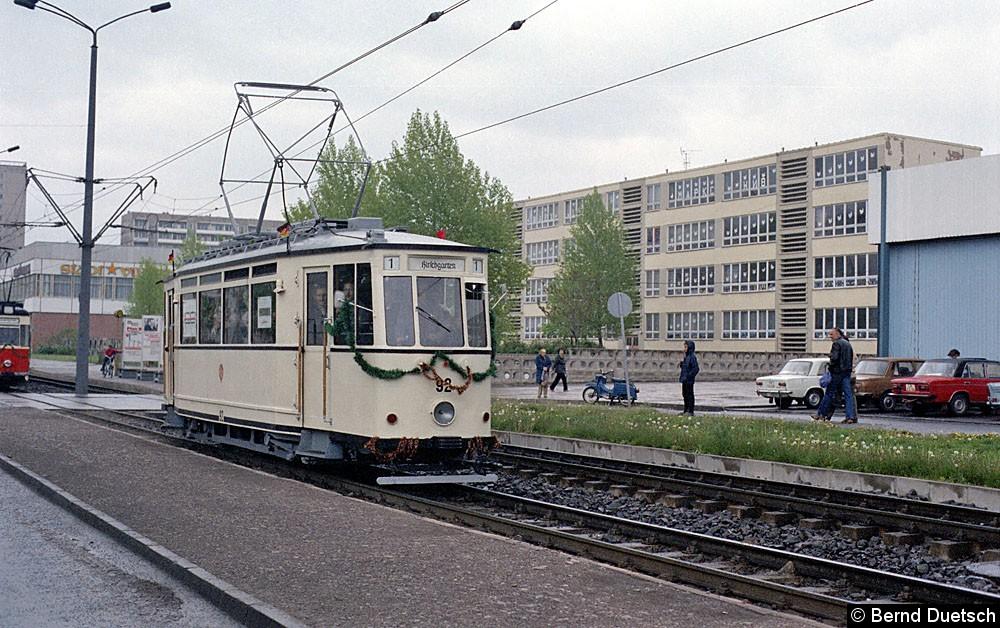 TW 92 in der Vilniuser Straße.